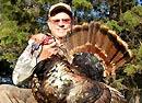 Luke Bags a Turkey