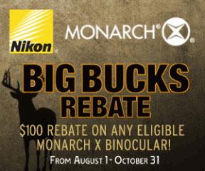 Nikon Announces Big Buck Rebate