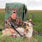 Author with his trophy Antelope