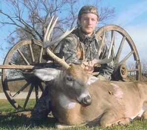 IA, Pike Co. IL, MO, KS, AND NE Whitetail Deer Hunting
