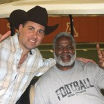 """Hook Em Horns"" with NFL legend Earl Campbell"