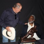Butch and the great Earl Campbell.