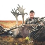 Bowhunting Central Canadian Barren ground caribou -Bill Krenz
