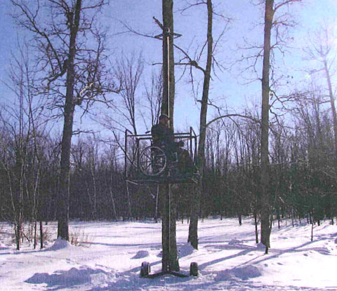 Treestands For The Disabled Hunter Bowhunting Net