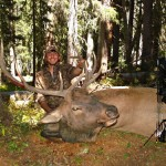 Dustin with his Bull.
