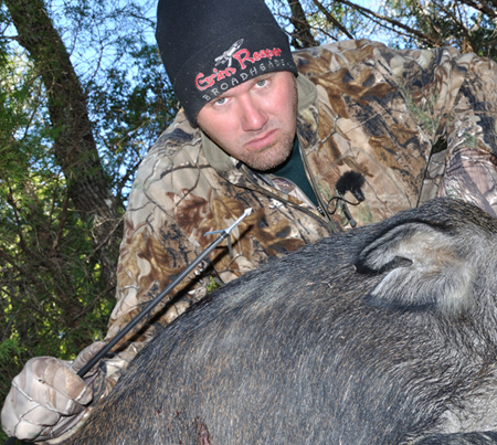 Pig Man Trusts Grim Reaper Broadheads
