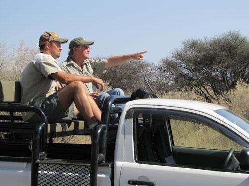Bowhunt Namibia: Gemsbok