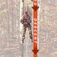 With the Rescue One 'CDS' Harness System you just safely lower yourself to the ground.