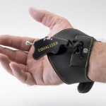 Comfortable, adjustable wrist strap puts the Equalizer in the palm of your hand.