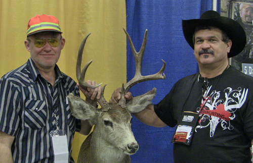 Mike McKcau of Mountain Mike's Hunts and Billy Don Van Cleave of Bowhunting.Net.