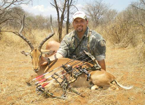Bowhunting Africa's Whitetail