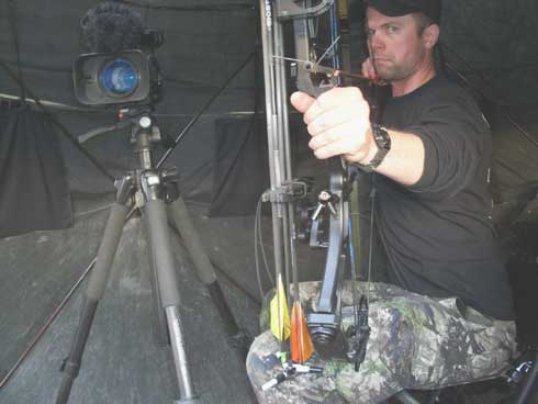 Self-Filming Archery Gobblers