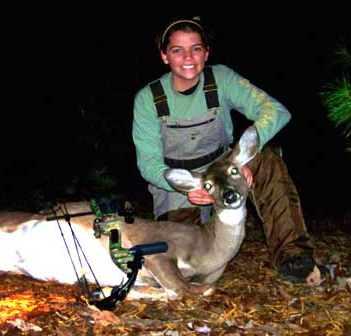 Michaela Gets Her First Deer
