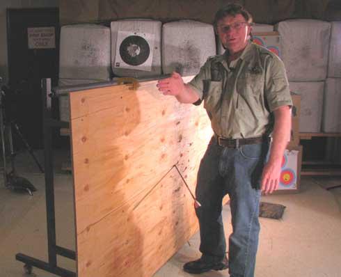 Broadhead Science: Angled Shot/Plywood