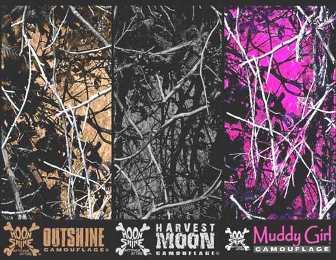 Moon Shine Attitude Attire™ Camouflage Patterns