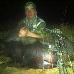 Hog down, VAP's and Tru Fire Broadhead did their job.
