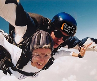 Go Sky Diving with Dead Down Wind