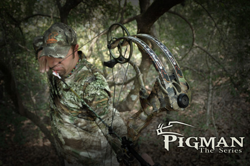 Pigman and Bear Archery Team Up for 2012 – Bowhunting.Net