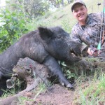 Hard to beat bowhunting for wild hogs.