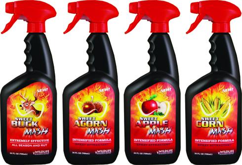 New – Sweet Mash™ Attractor Sprays – Secret for Success!