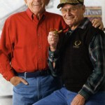 George with long time friend Bill Bednar.