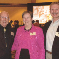 Archery Hall of Fame Induction 2009: George, Julia Body, Chuck Adams and the HoF founder Dave Staples who had passed away that year.
