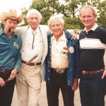 Dale Gray, Papa Bear, George and Eastmon founder Bob Eastman.