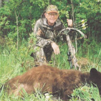 Crossbows certainly have a place in the hunting sport and this black bear proves their effectivness.