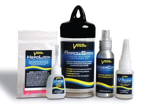 VaneTec Offers New Adhesives for Archers