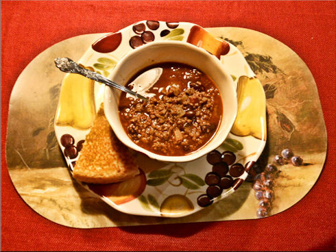 Meal of the Month: Venison Chili Beans