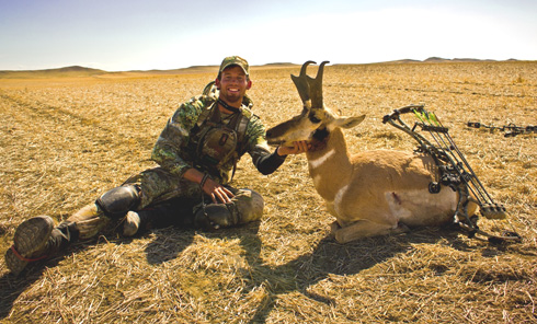 A Bowhunting Rollercoaster Ride For Antelope