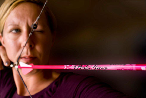 Mary Hale and the Pink Arrow Project