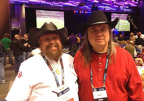 Tink Nathan and Robert Hoague