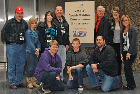 MidwayUSA Sponsors the Youth Wildlife Conservation Experience