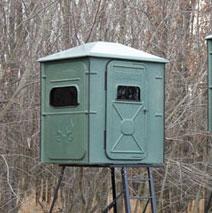 Redneck Blinds Intros Trophy Tower Crossover 5X5 Blind
