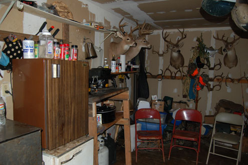 Outdoorsman's Man Cave