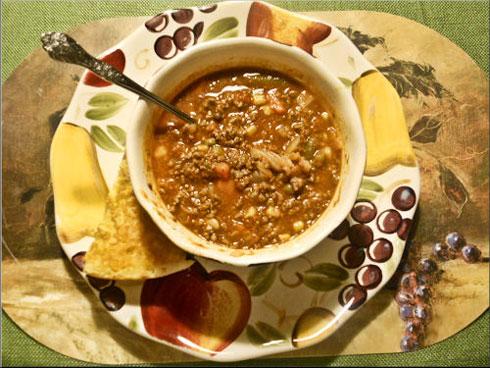 SisieQ: Venison Vegetable Soup