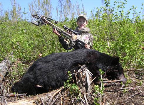 Dead Down Wind Black Bear (Kids hunt free)