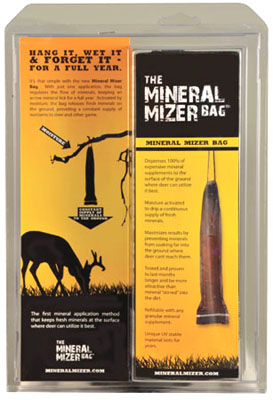 Get Year-Round Mineral with the Mineral Mizer Bag