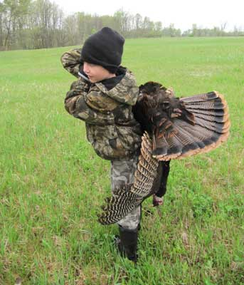 Hunting Turkey with Hunter