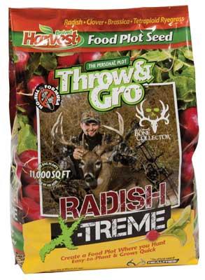 Evolved Harvest Intros Throw & Grow Radish X-Treme