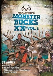 "Realtree® Hunting Video  ""Monster Bucks XX, Volume 1 & 2"""