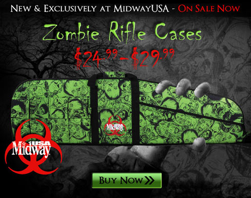 MidwayUSA Intros Zombie Patterned Rifle Case