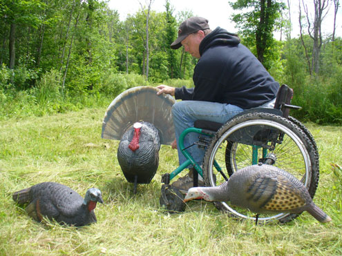 Hunting Turkey on Wheels