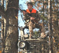 TreeTram Self Lifting Treestand