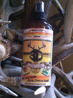 3D Hunting Supply's White Oak Acorn Scent