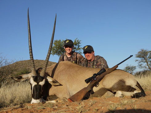 Robinson Outdoor Winner – Hunting Africa in July
