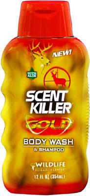 SCENT KILLER GOLD  Ultra-Premium BODY WASH & SHAMPOO