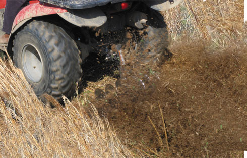 GroundHog MAX ATV Disc Plow