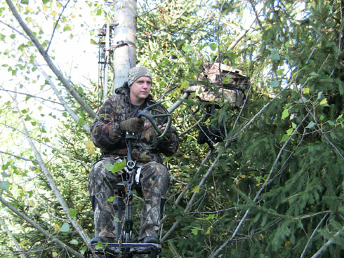 5 Treestand Tricks + 3 Pieces of Solid Advice
